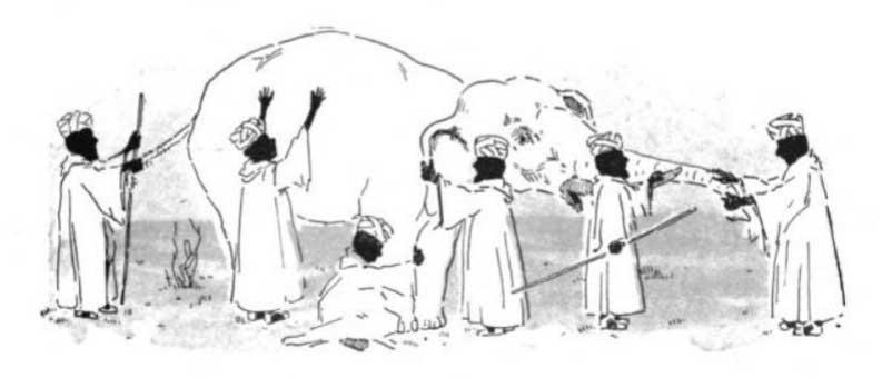استراتژی محتوا- داستان فیل در تاریکی